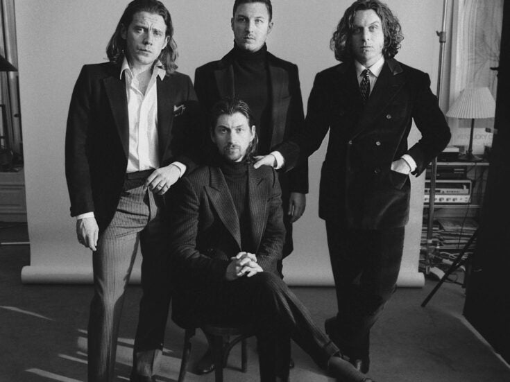 Tunes from a planet of one: Arctic Monkeys' Tranquility Hotel Base & Casino