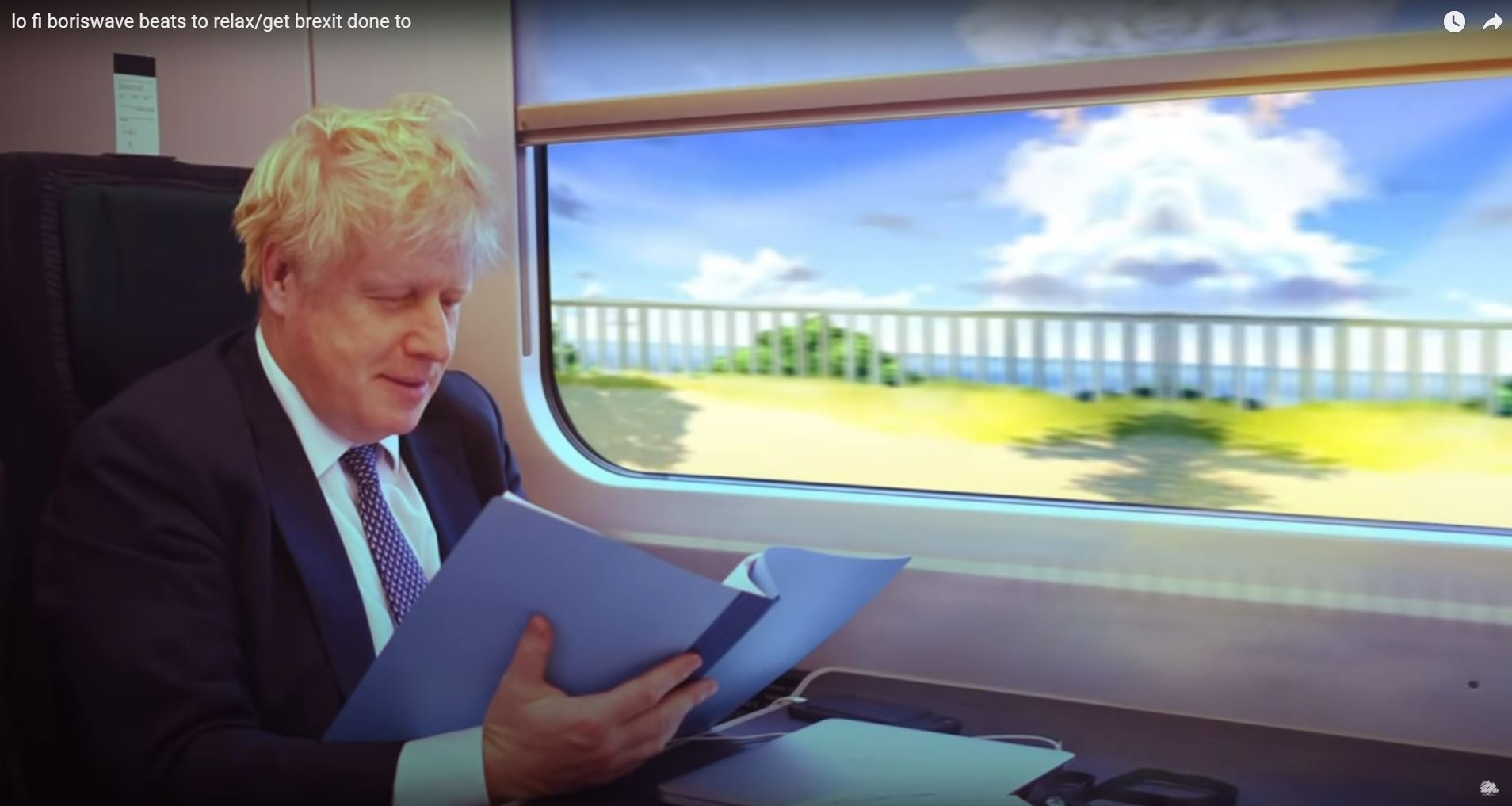 lo fi boriswave: Why are the Conservatives posting 71-minute hypnotic videos to YouTube?