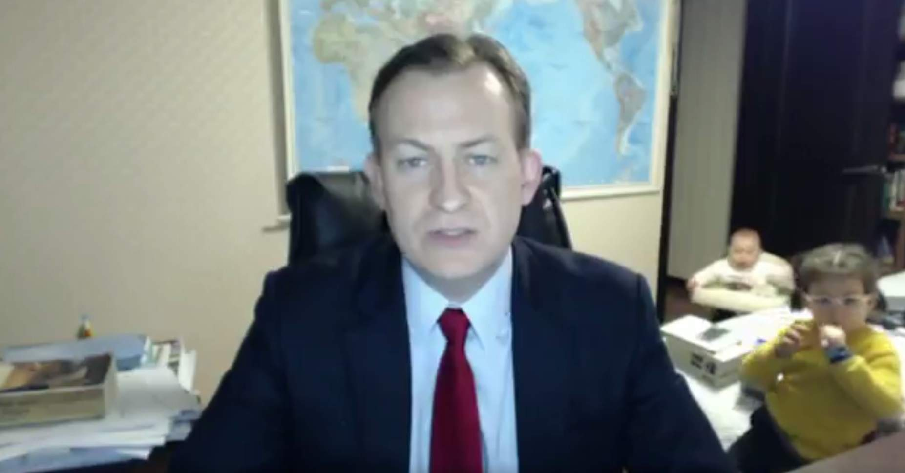 The BBC pundit's children video is NOT FUNNY. It's patriarchy in a nutshell