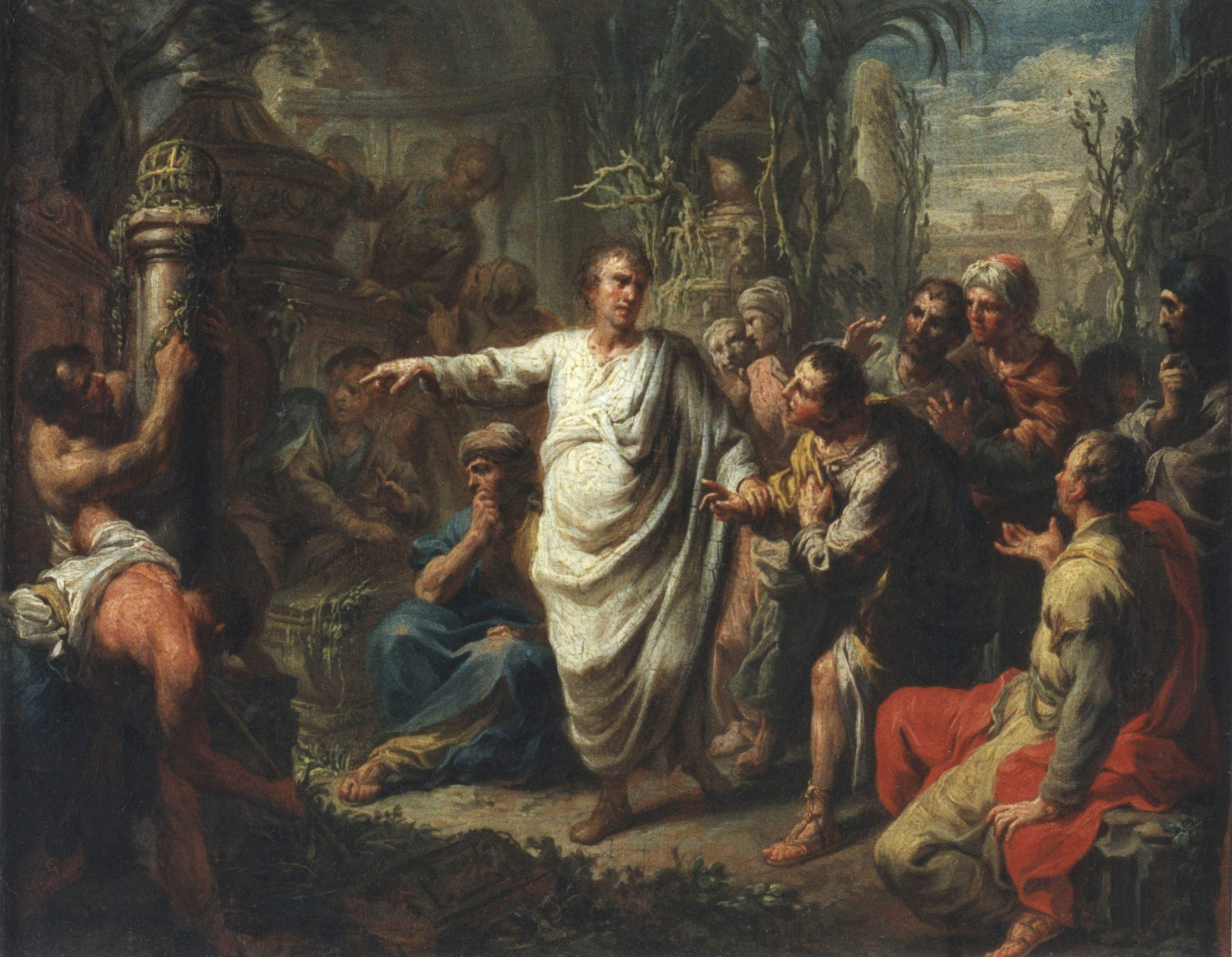 End of an orator: the ancient Roman machinations of Robert Harris's Dictator