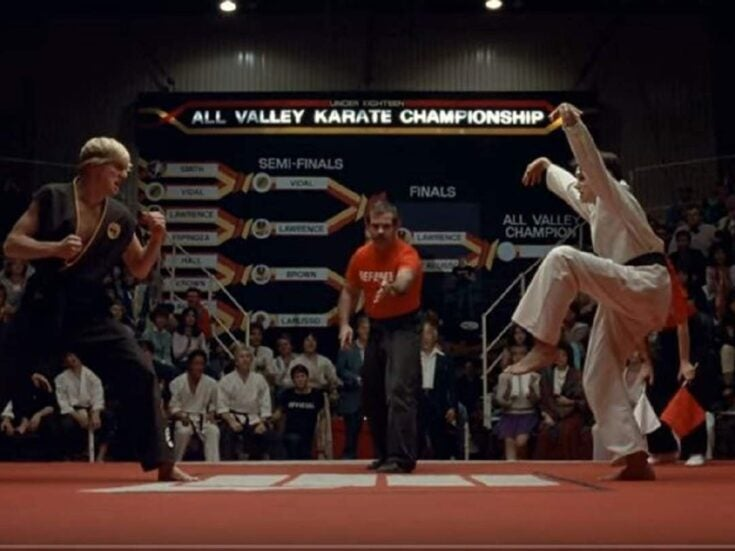 No one asked for a middle-aged Karate Kid update, but YouTube made one anyway
