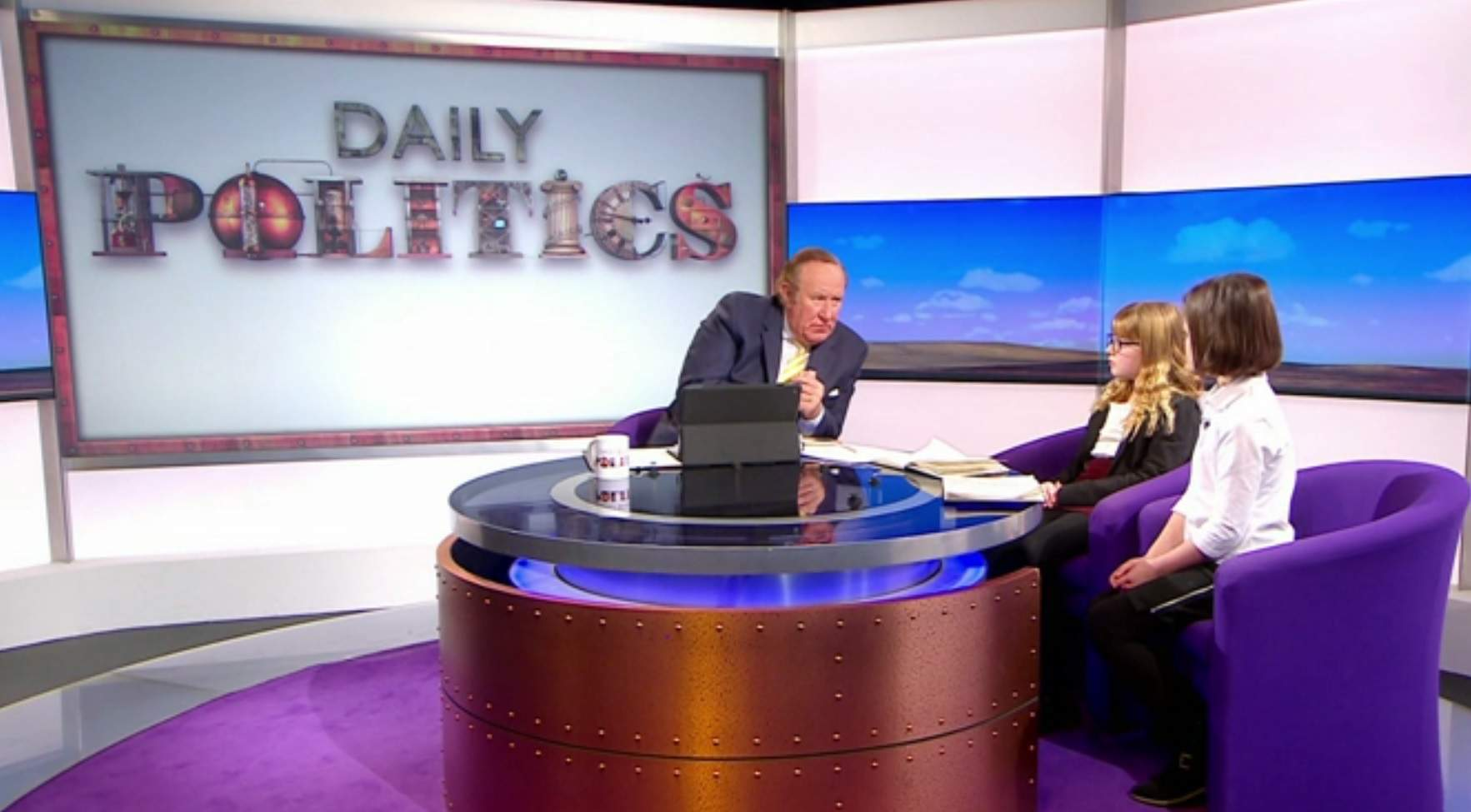 Life is tough as a former special adviser, shouting at the Daily Politics in your pants