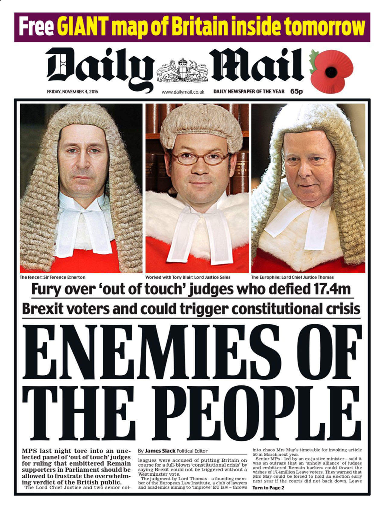 The upchuck of bigotry against the high court is no surprise – it's been brewing since 23 June