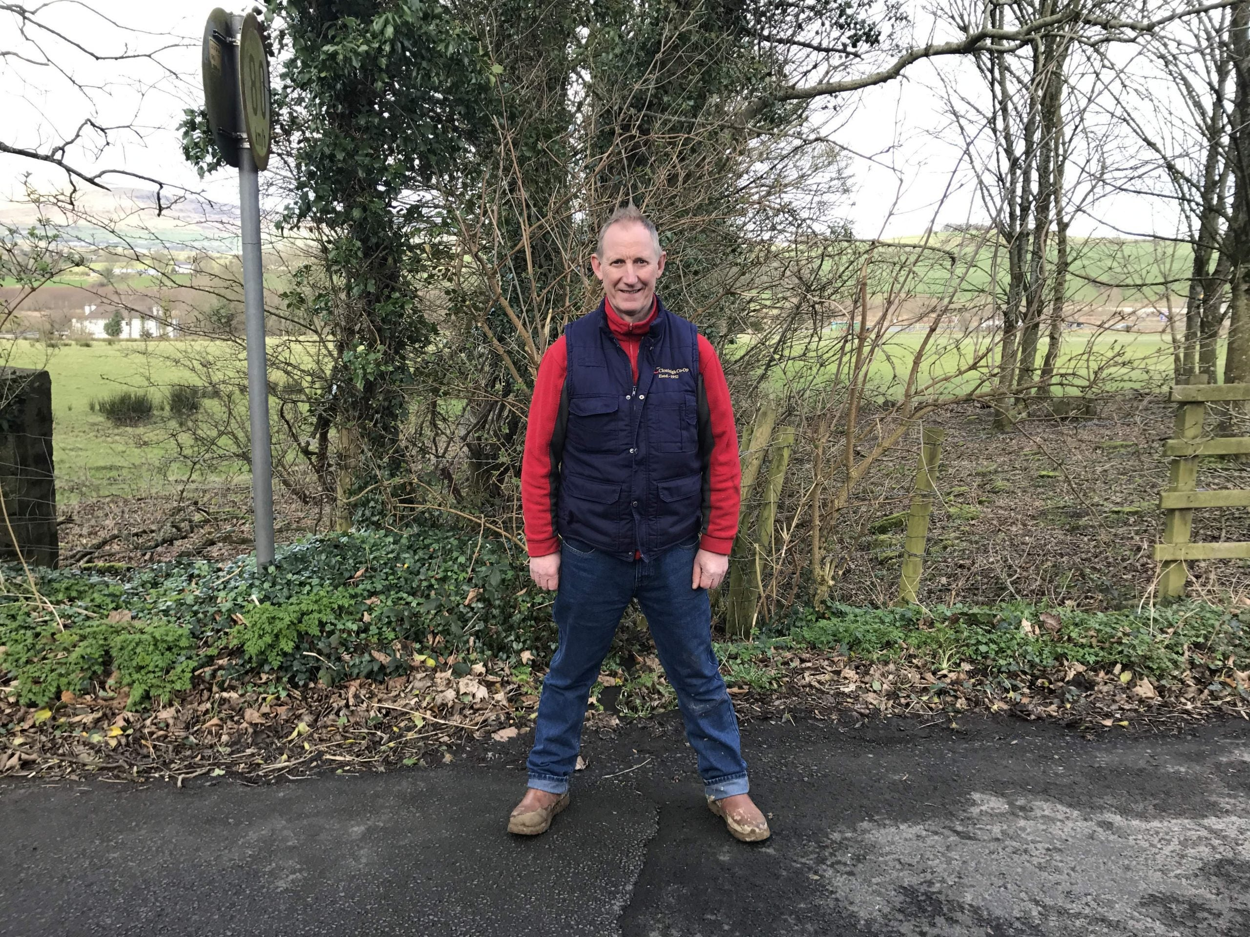 """The farmer straddling both sides of the Irish border: """"People don't want a return to violence"""""""
