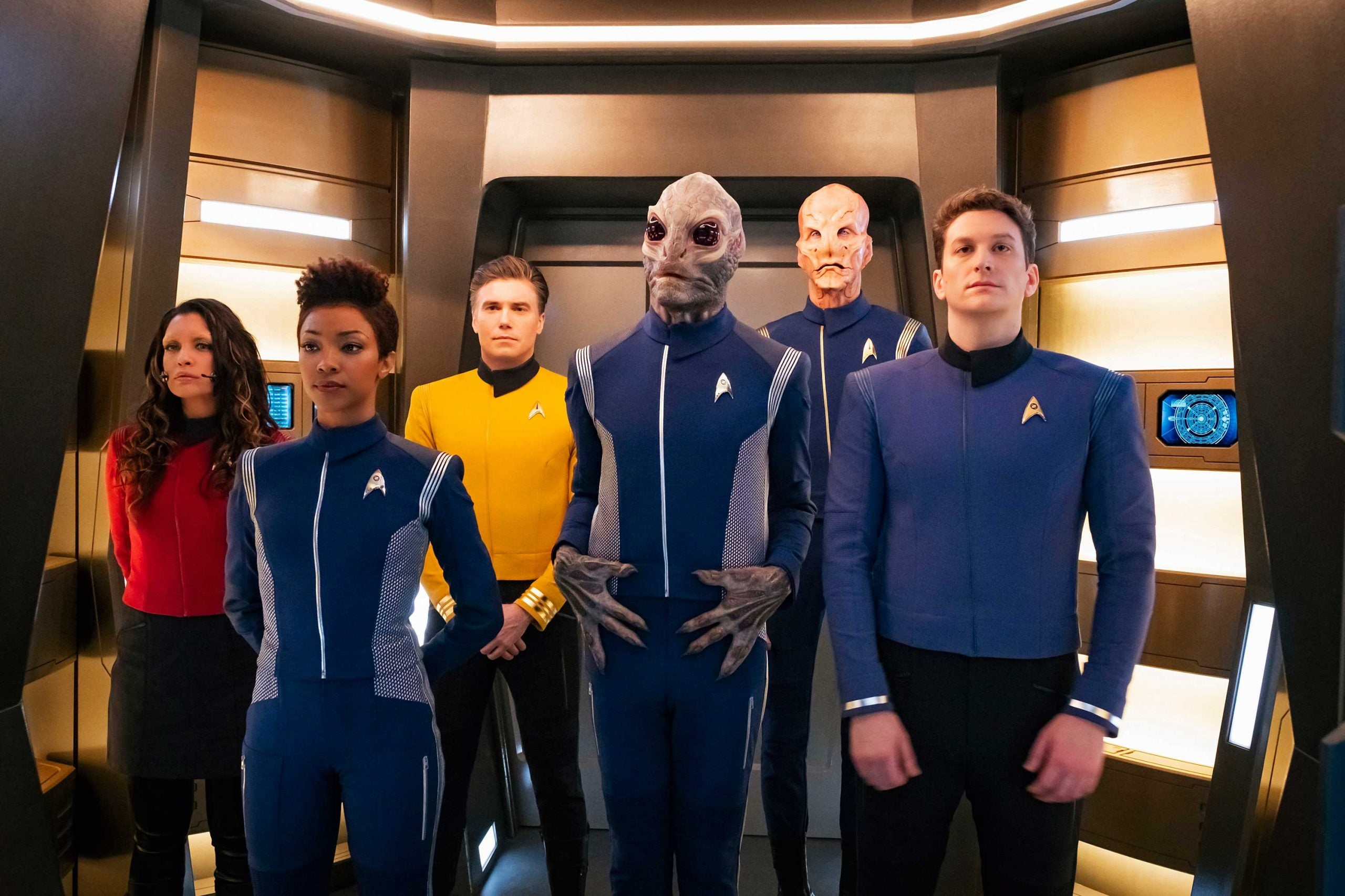 The writers of Star Trek: Discovery seem to have concluded it's a show about Star Trek