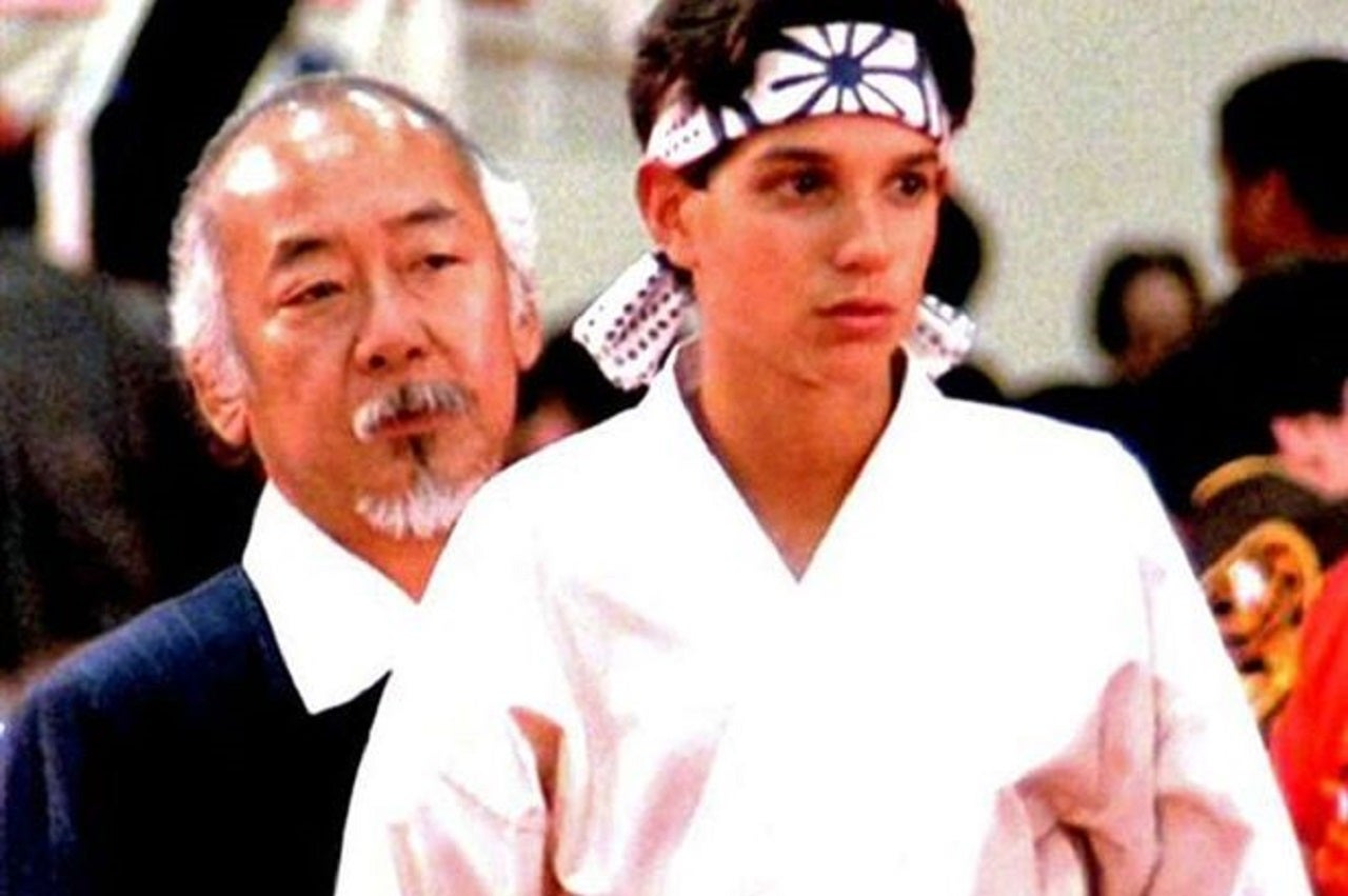 I suddenly became interested in The Karate Kid – and fell in love with Ralph Macchio