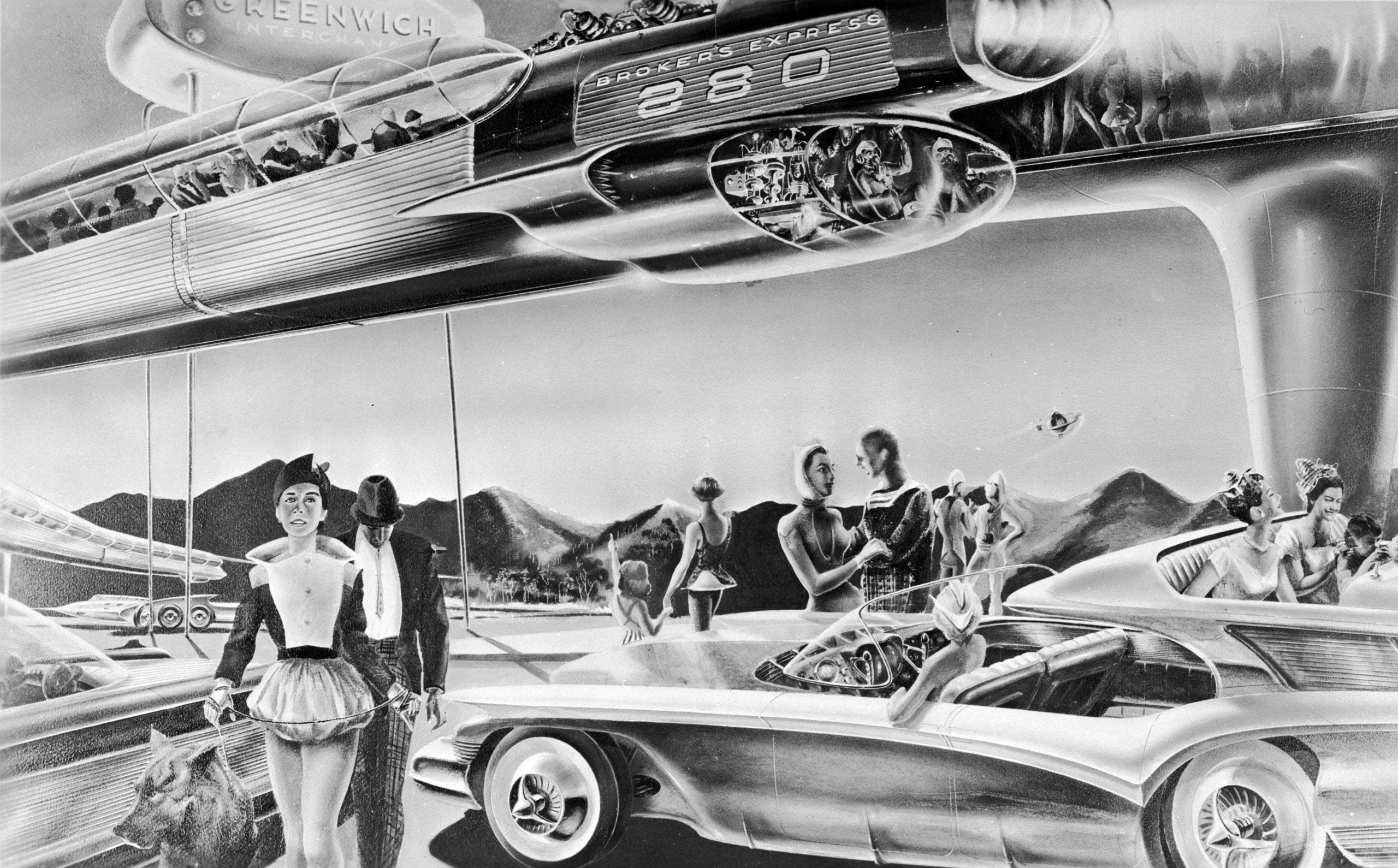 Which companies are making driverless cars, and what are their competing visions for the future?