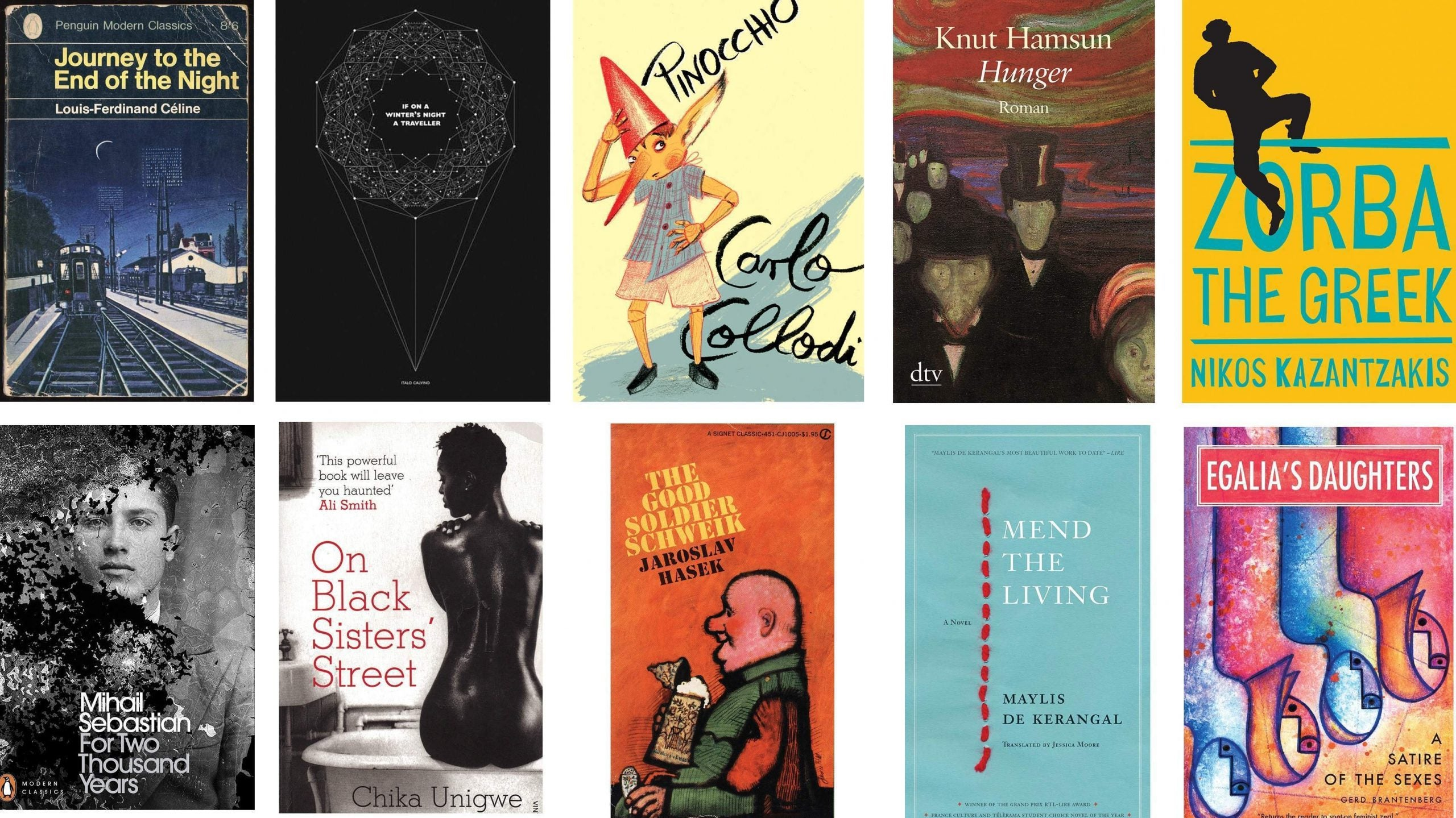 Speaking in tongues: the greatest European novels, chosen by NS friends and contributors