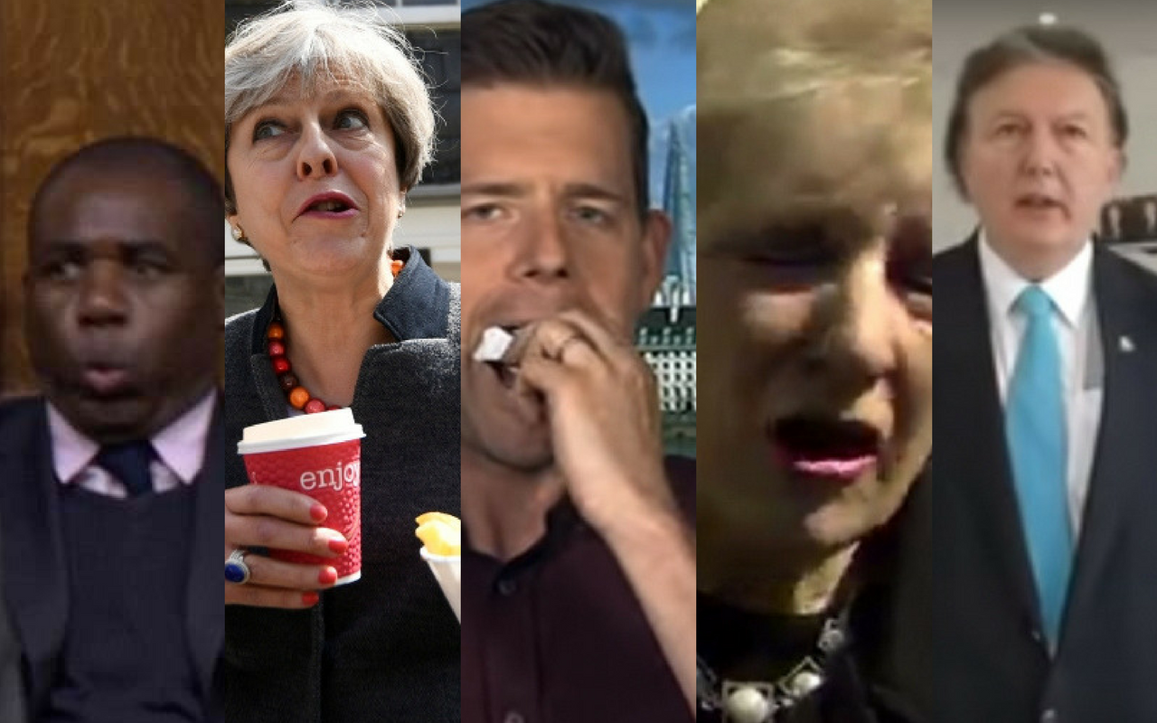 The best facial expressions of 2017