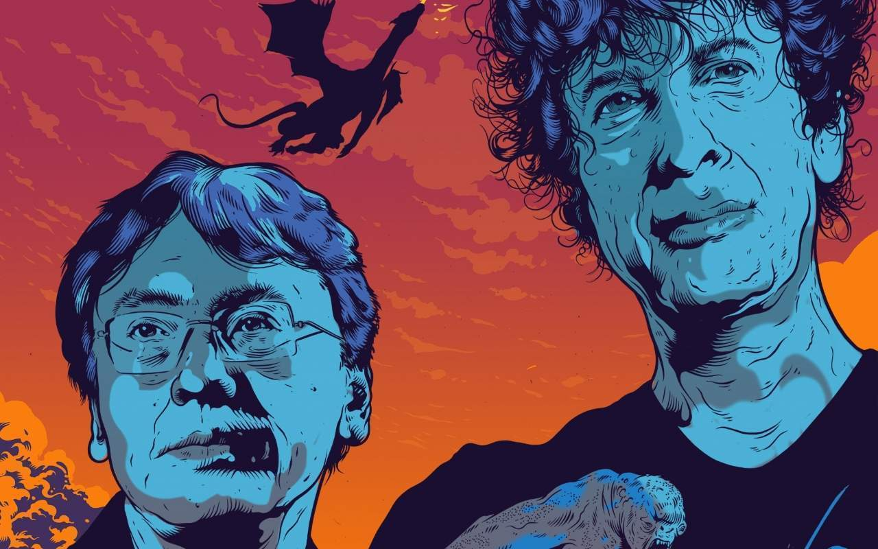 """""""Let's talk about genre"""": Neil Gaiman and Kazuo Ishiguro in conversation"""