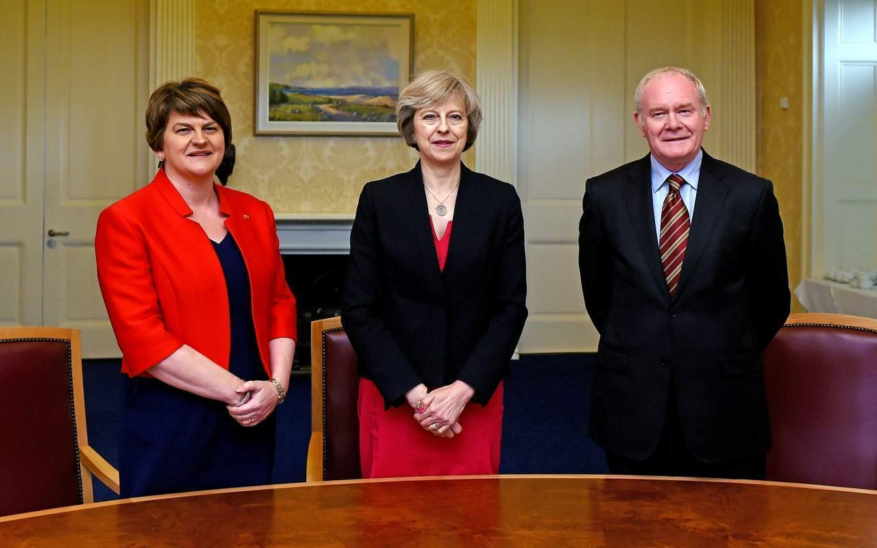 Whatever Arlene Foster did, at least no one died