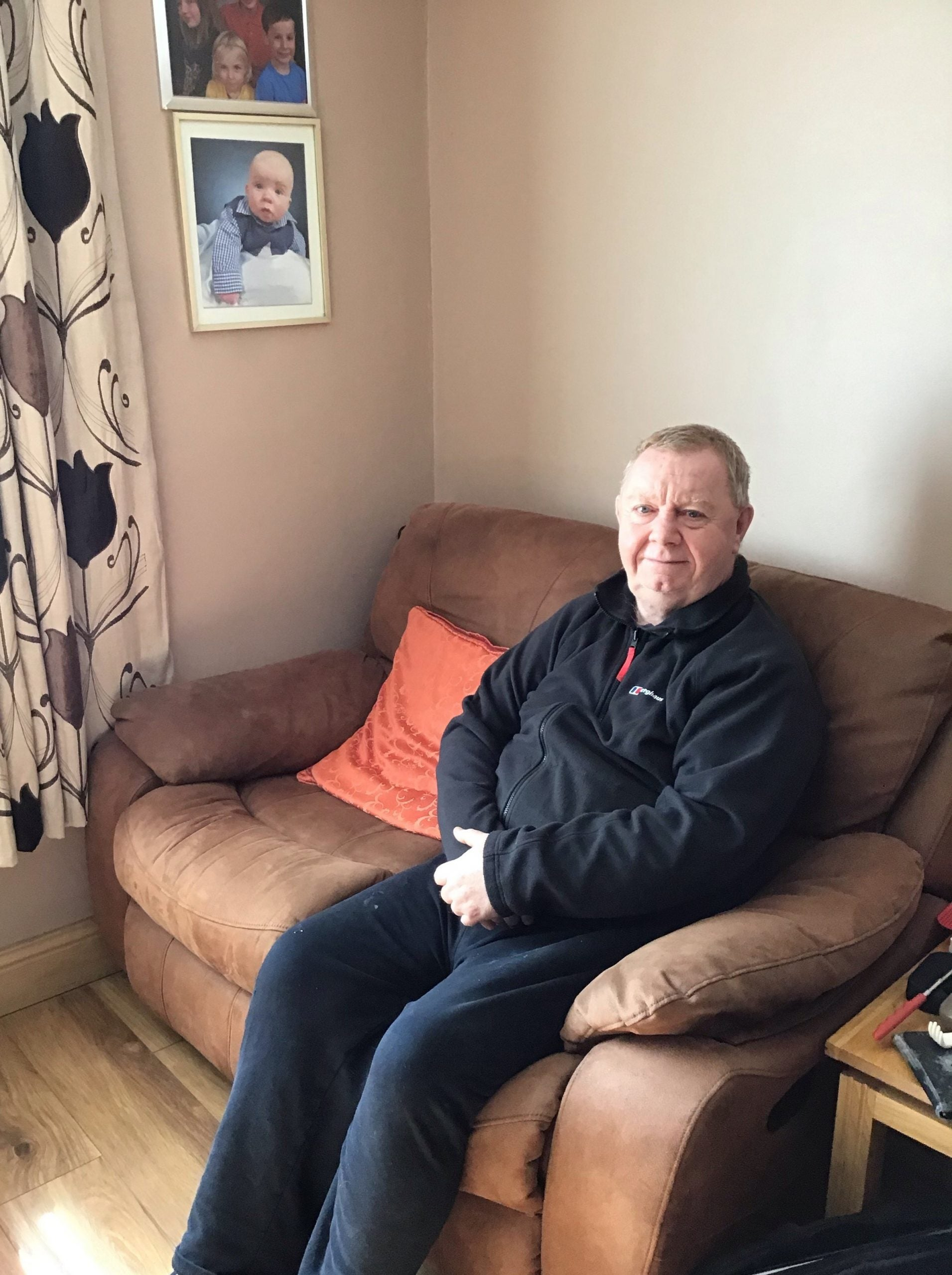 """""""It should be available everywhere"""": How thrombectomy saved Gerald McMullen's life"""