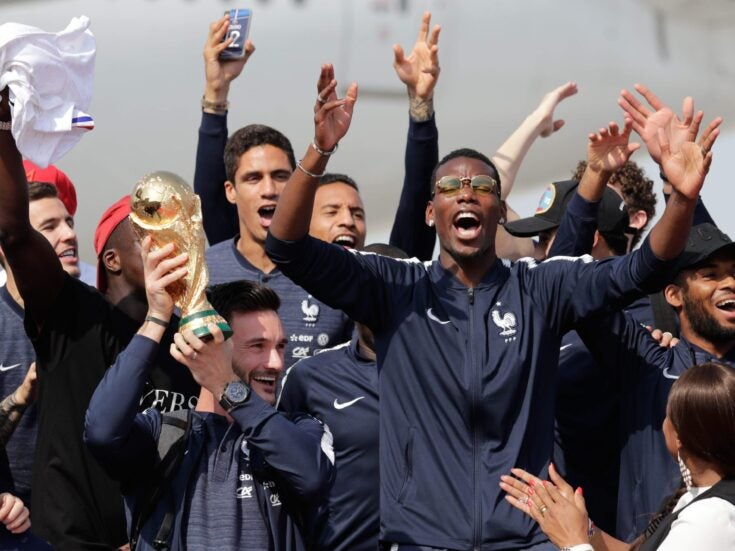 A victorious World Cup team made in the multiracial Paris banlieues