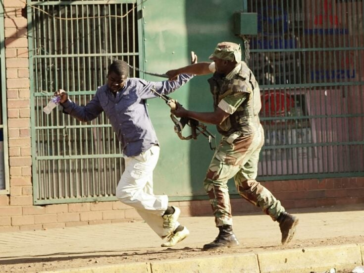 South Africa is the only country with a chance of stopping the bloodshed in Zimbabwe