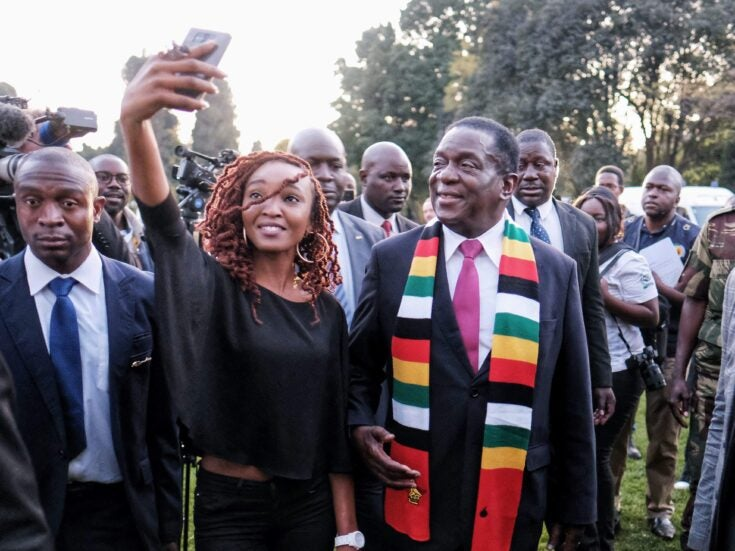How the pariah state Zimbabwe is wooing the West for business