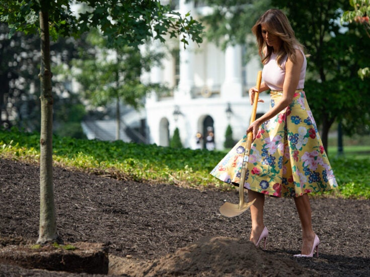 Melania's shovel is cause for reflections on our complicated relationship with gardening tools