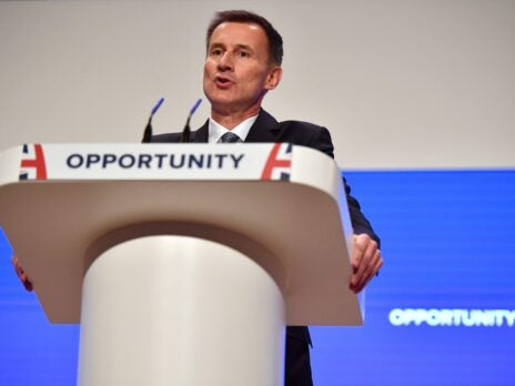 Jeremy Hunt turns born-again Brexiteer as he bids to succeed Theresa May