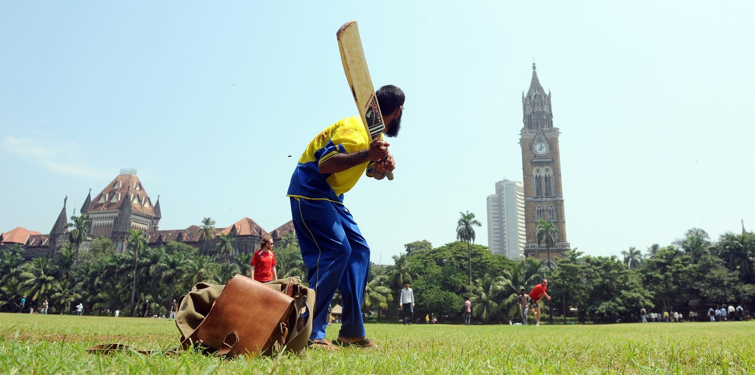 Cricket contains multitudes, and they can all be found on a patch of dusty grass in a park in Mumbai