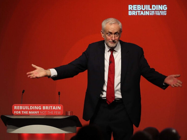 Letter of the Week: Who's afraid of Mr Corbyn?