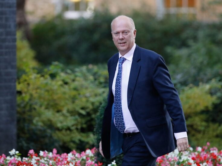 Commons Confidential: Chris Grayling's welcoming party