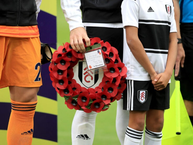 Footballers have a right to dissent from the poppy narrative