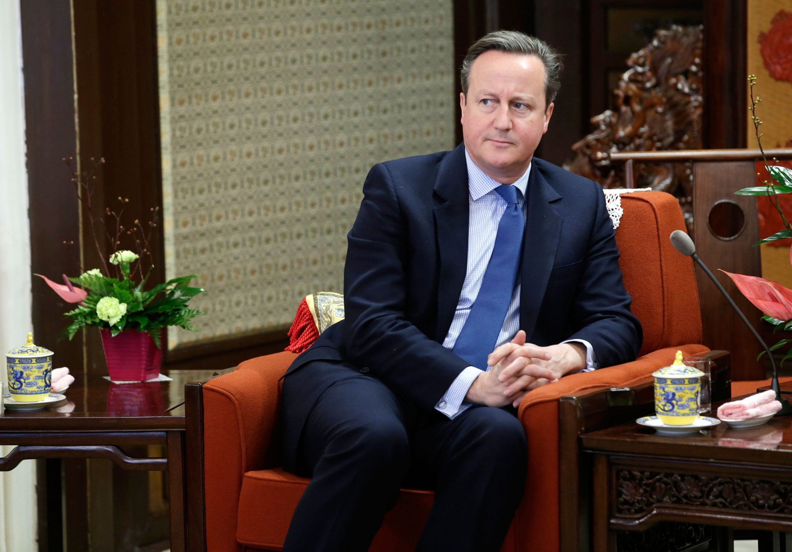 Commons Confidential: Dodgy Dave lies low in Davos