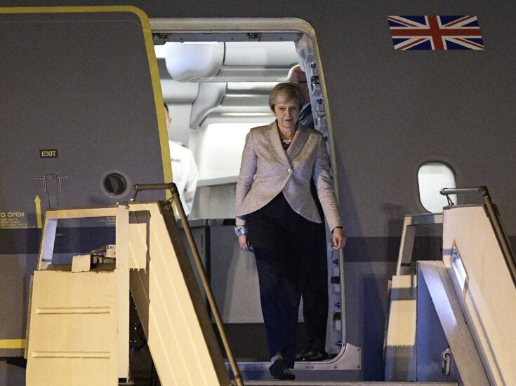 Aboard May Force One, I begin to wonder if the Prime Minister's Christmas wish will be granted