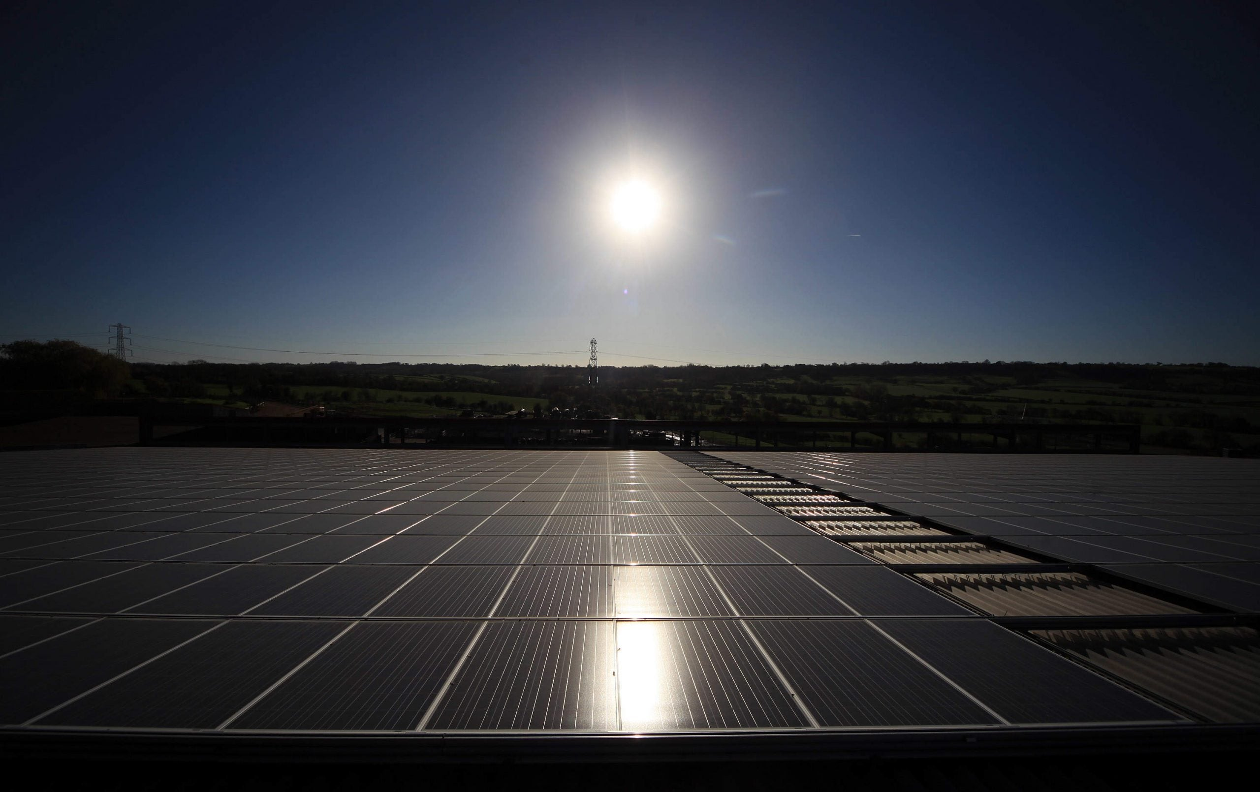 The lights are going out for solar energy