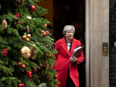 Theresa May bribes Tory MPs with Christmas honours ahead of the Brexit vote