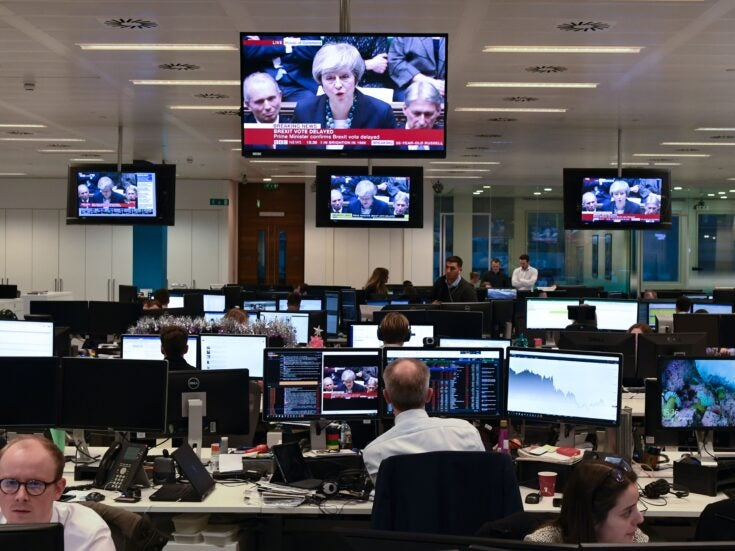 Why aren't financial markets panicking over the confidence vote in Theresa May?