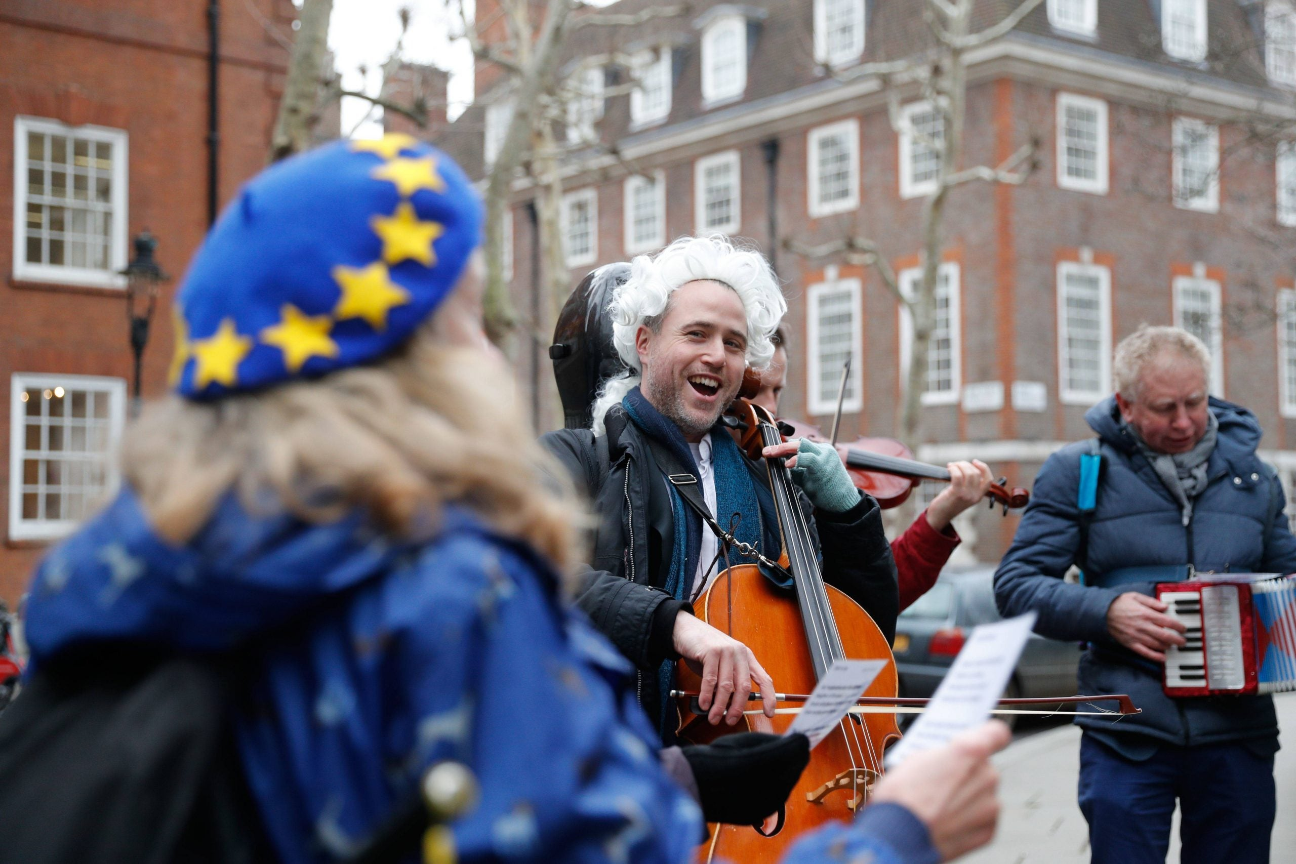 One man writes the music for Brexit – feat. deep fried trumpet and the sound of Chequers