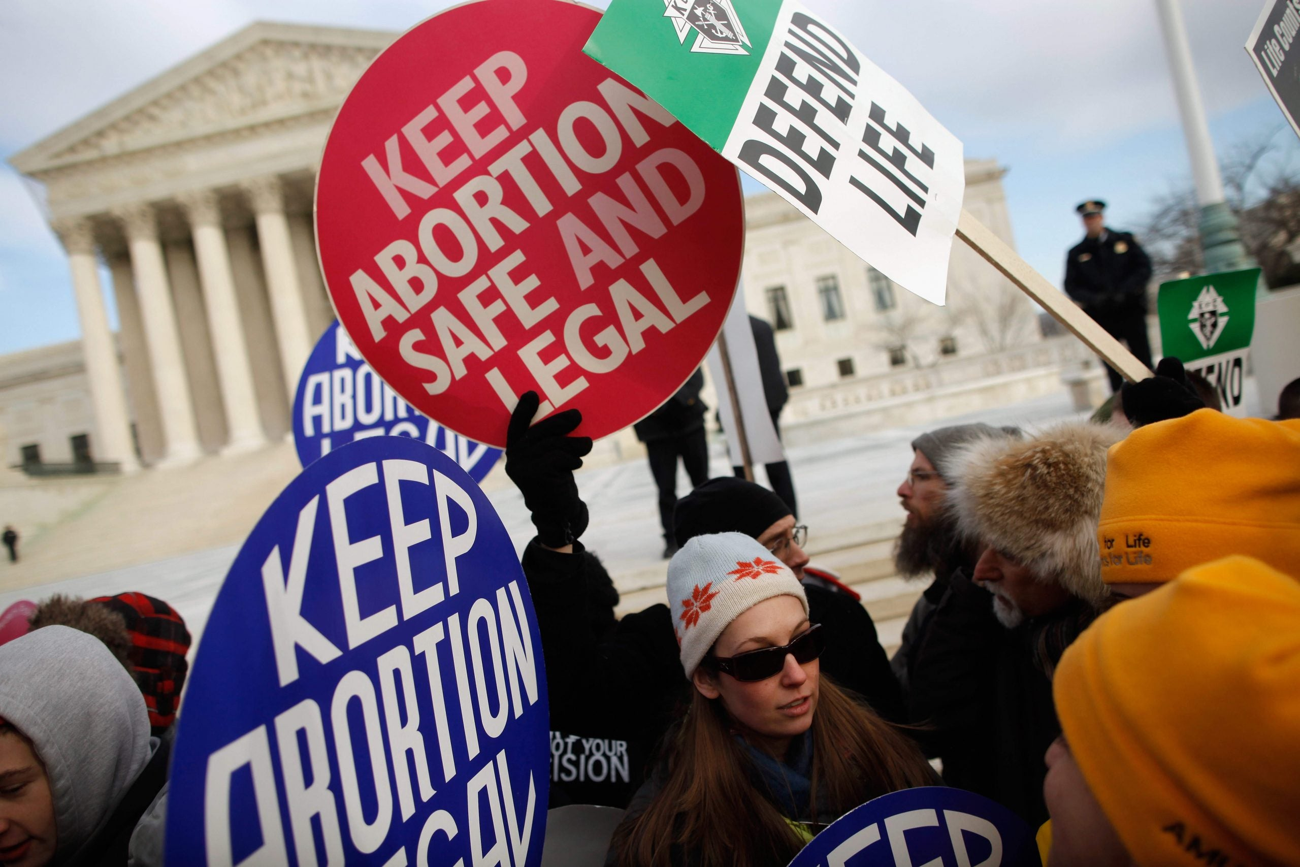 If men got pregnant, abortion would be legal everywhere