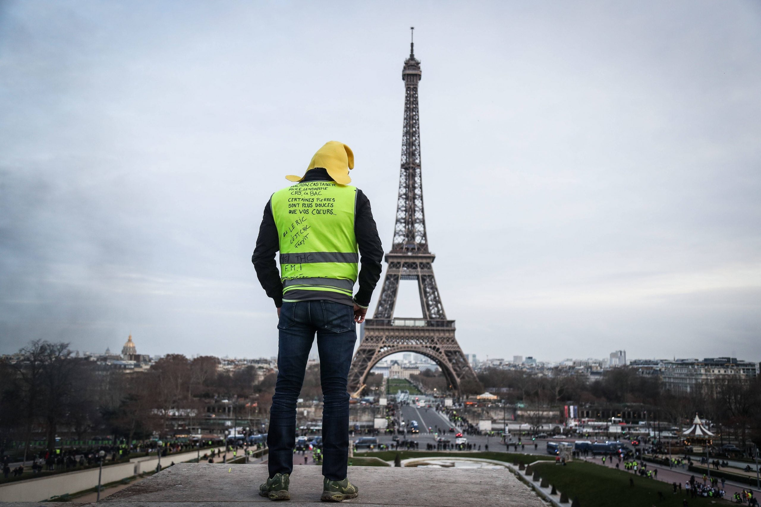 The two faces of the gilets jaunes