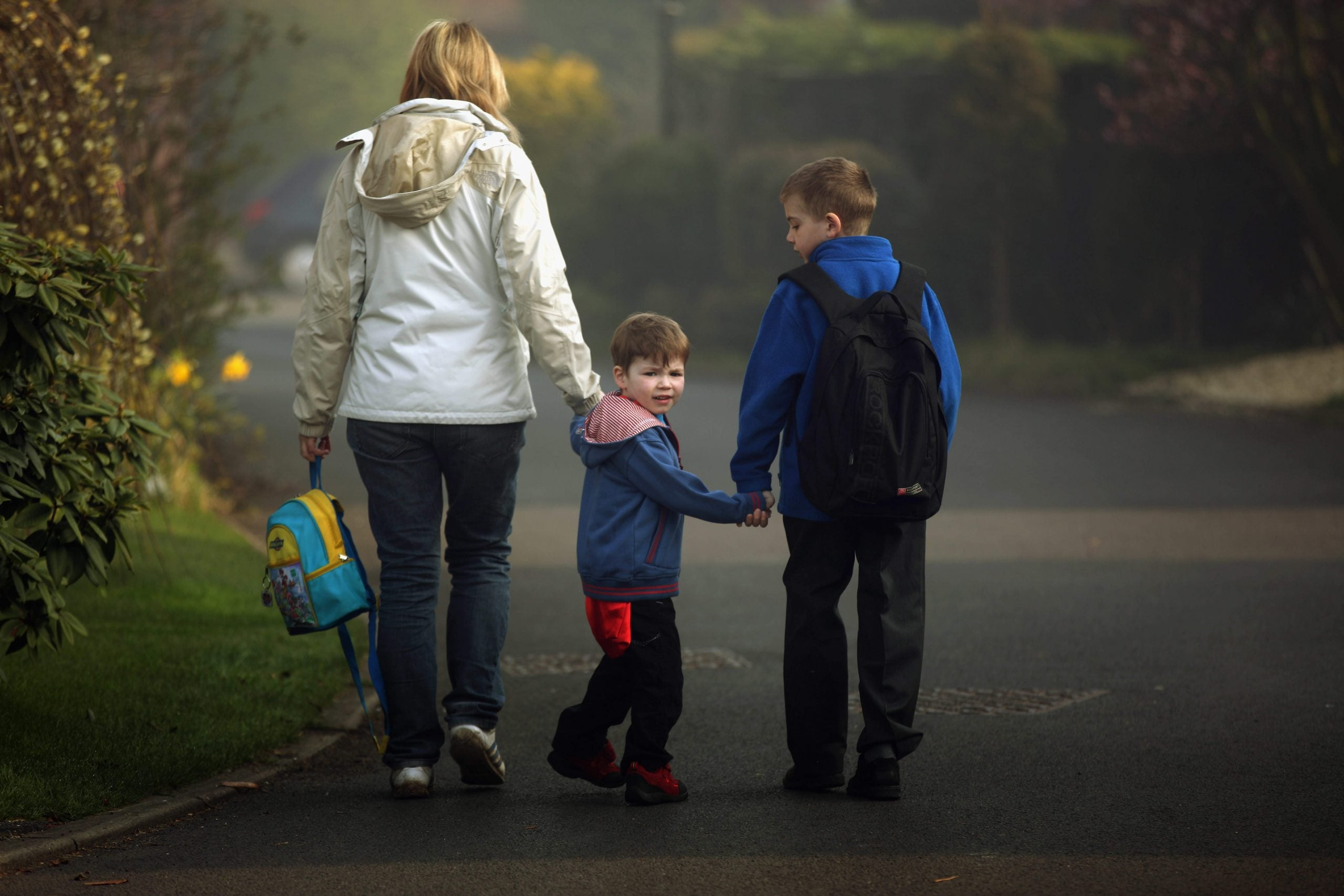 Why does the welfare state target single parents with young children for punishment?