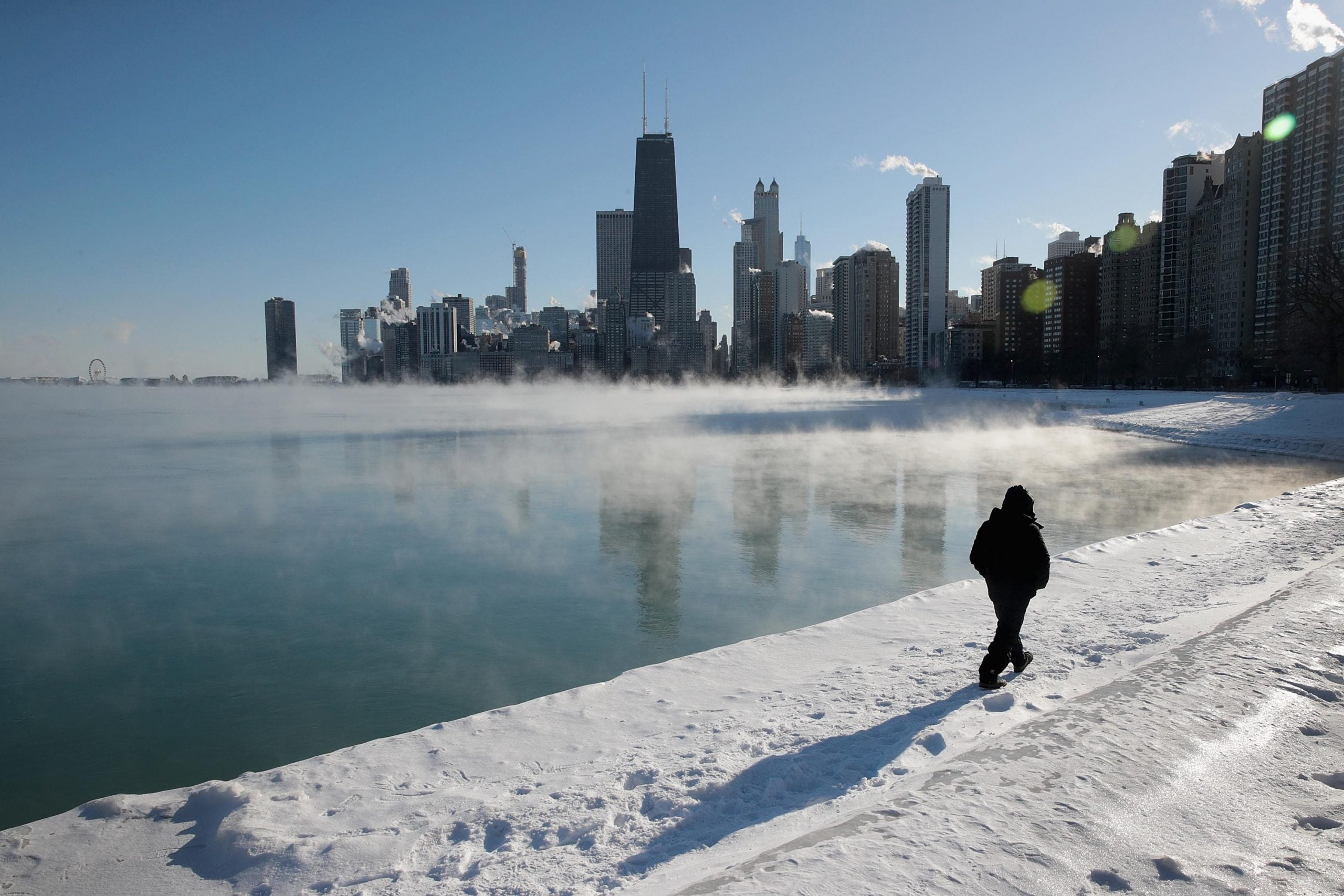 """""""People literally can't leave their homes"""": inside Chicago's polar vortex"""