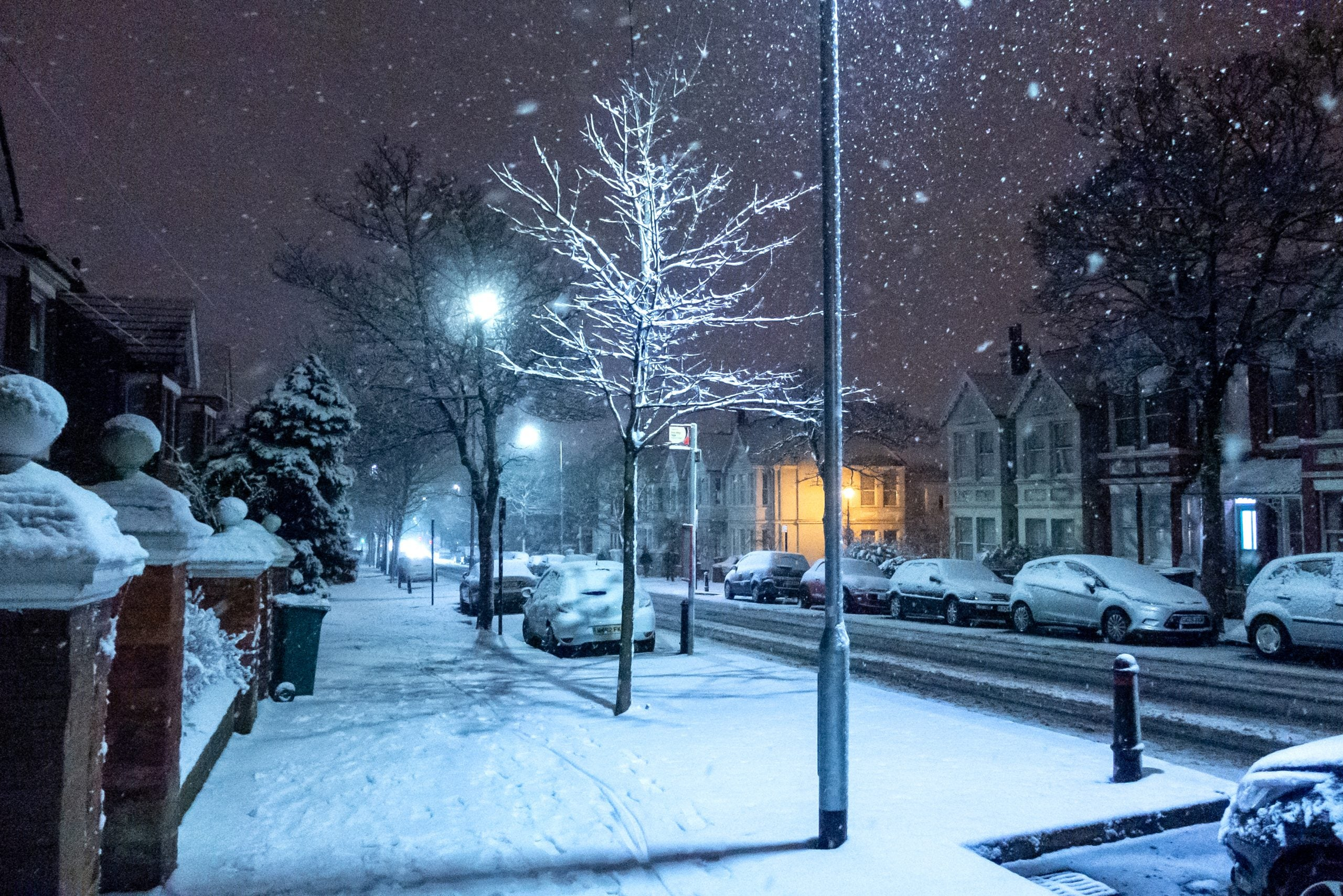 I never expected to see snow in Brighton but it's here – aimless and not settling. Sound familiar?
