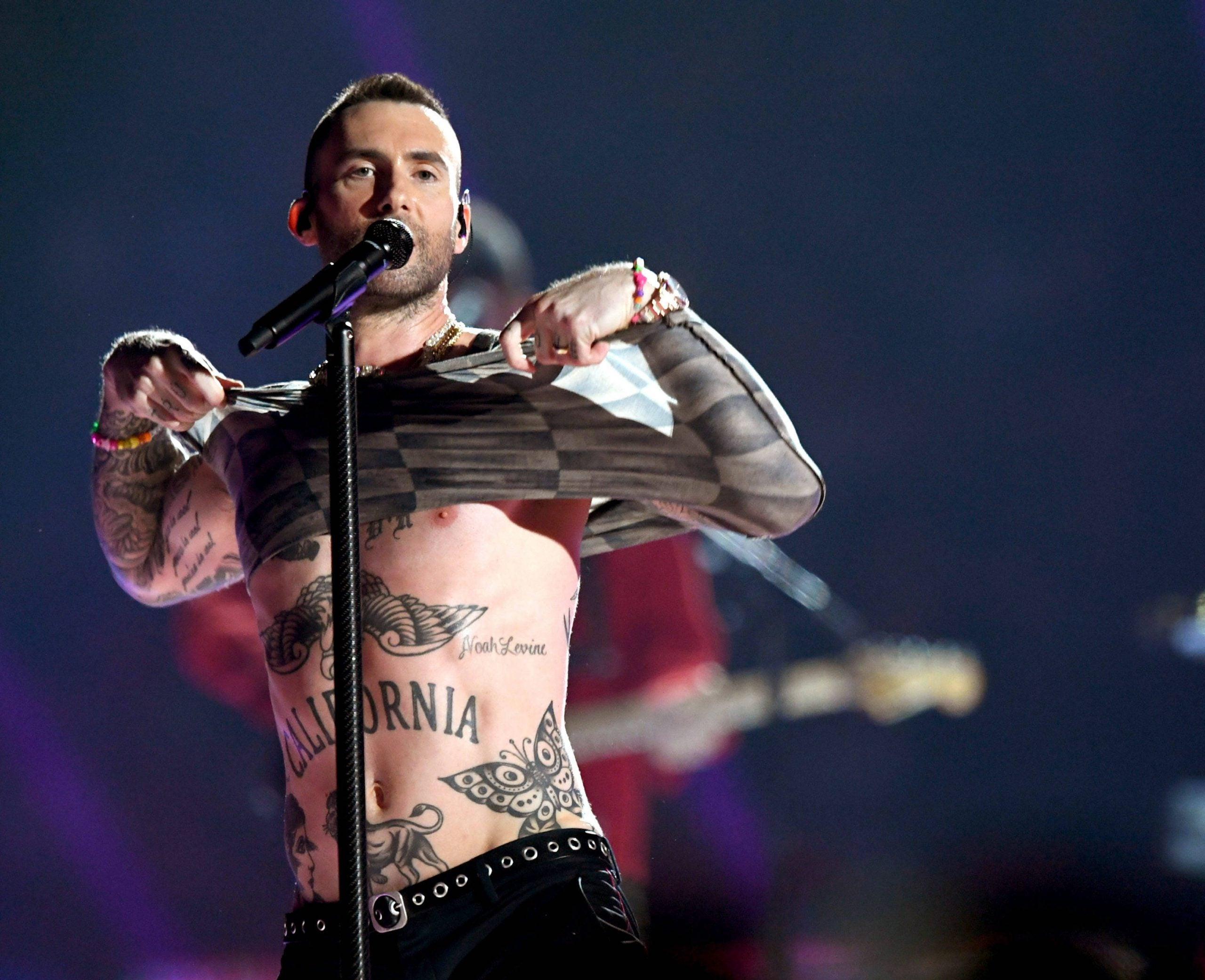 Forget fireworks, sheets of flame and Adam Levine's nipples, I'll stick to half-time British-style