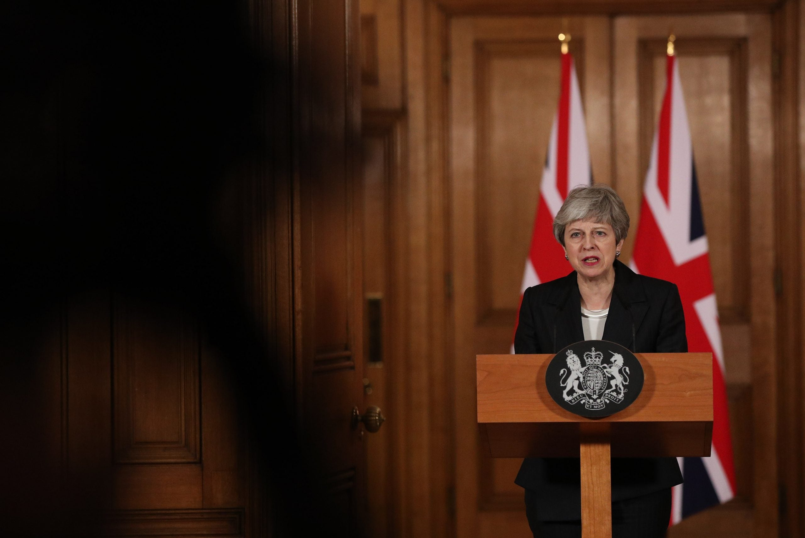 Theresa May's Trumpian statement was reminiscent of a sovereign dictator