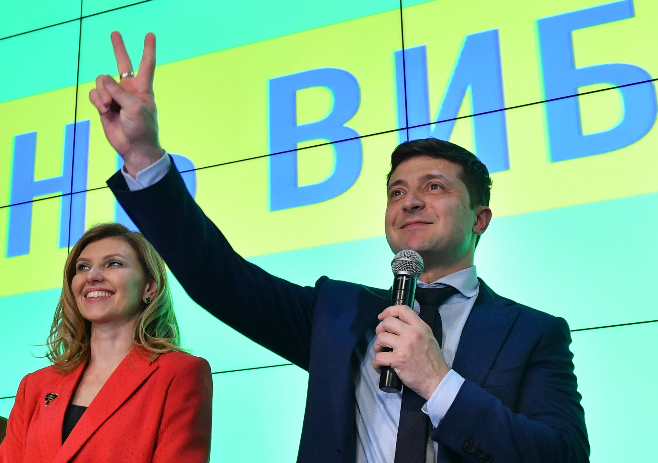 Ukraine is poised to elect a comedian as its next president