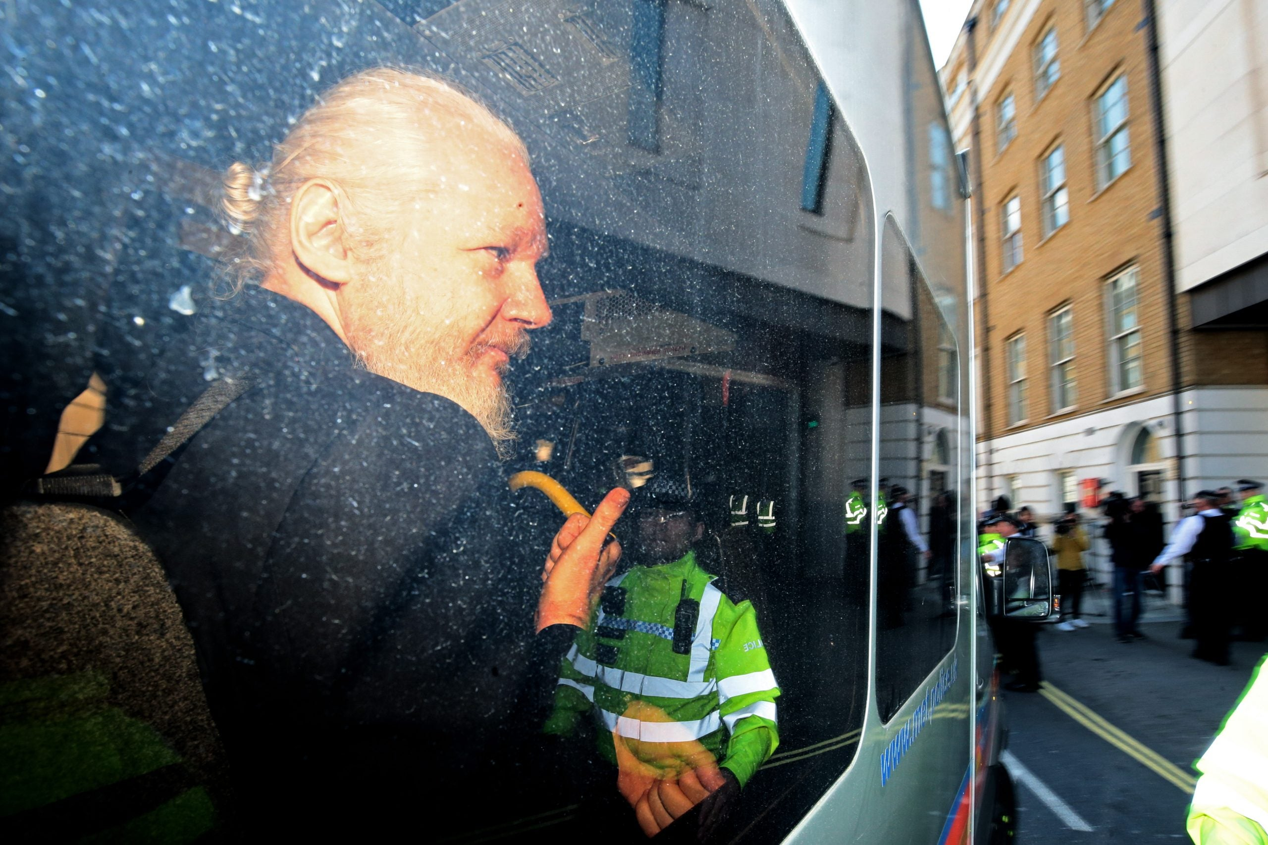 The arrest of Julian Assange has sparked a domestic political row
