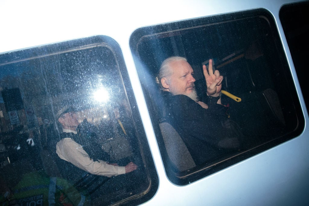 Assange's embassy stay looks set to end with an extradition flight in the wrong direction