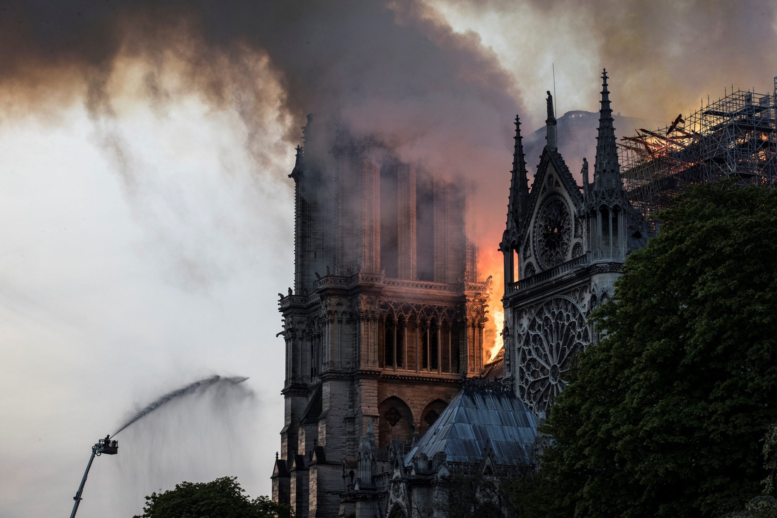 Notre Dame is a reminder that the Palace of Westminster could be next