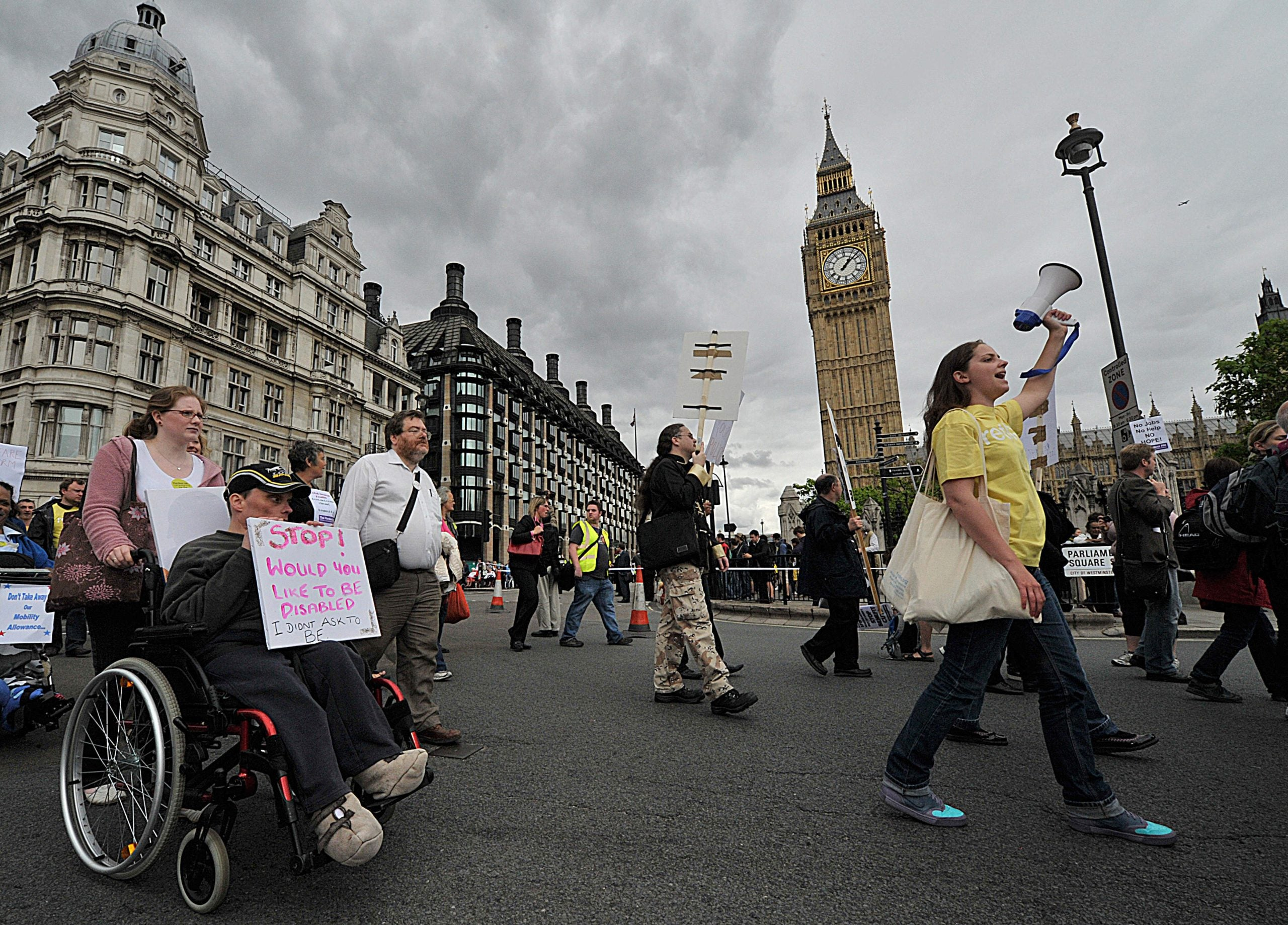 Don't forget the most under-represented group in our democracy - disabled people