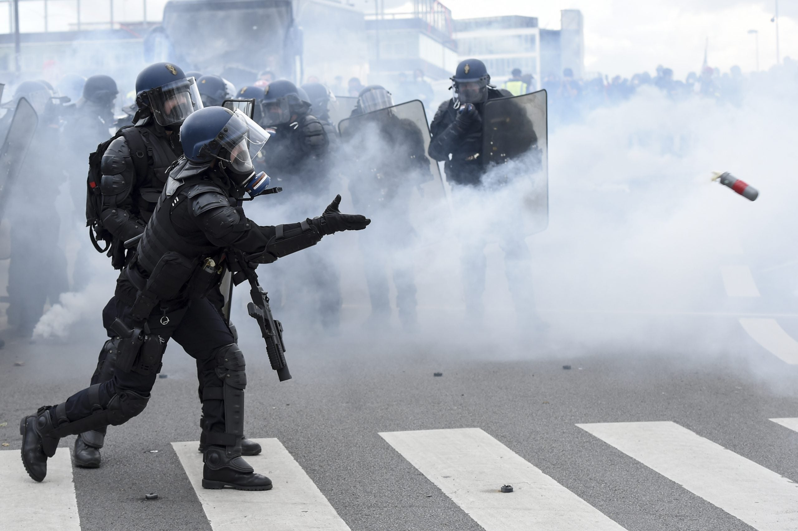 How French police brutality is harming the country's international image