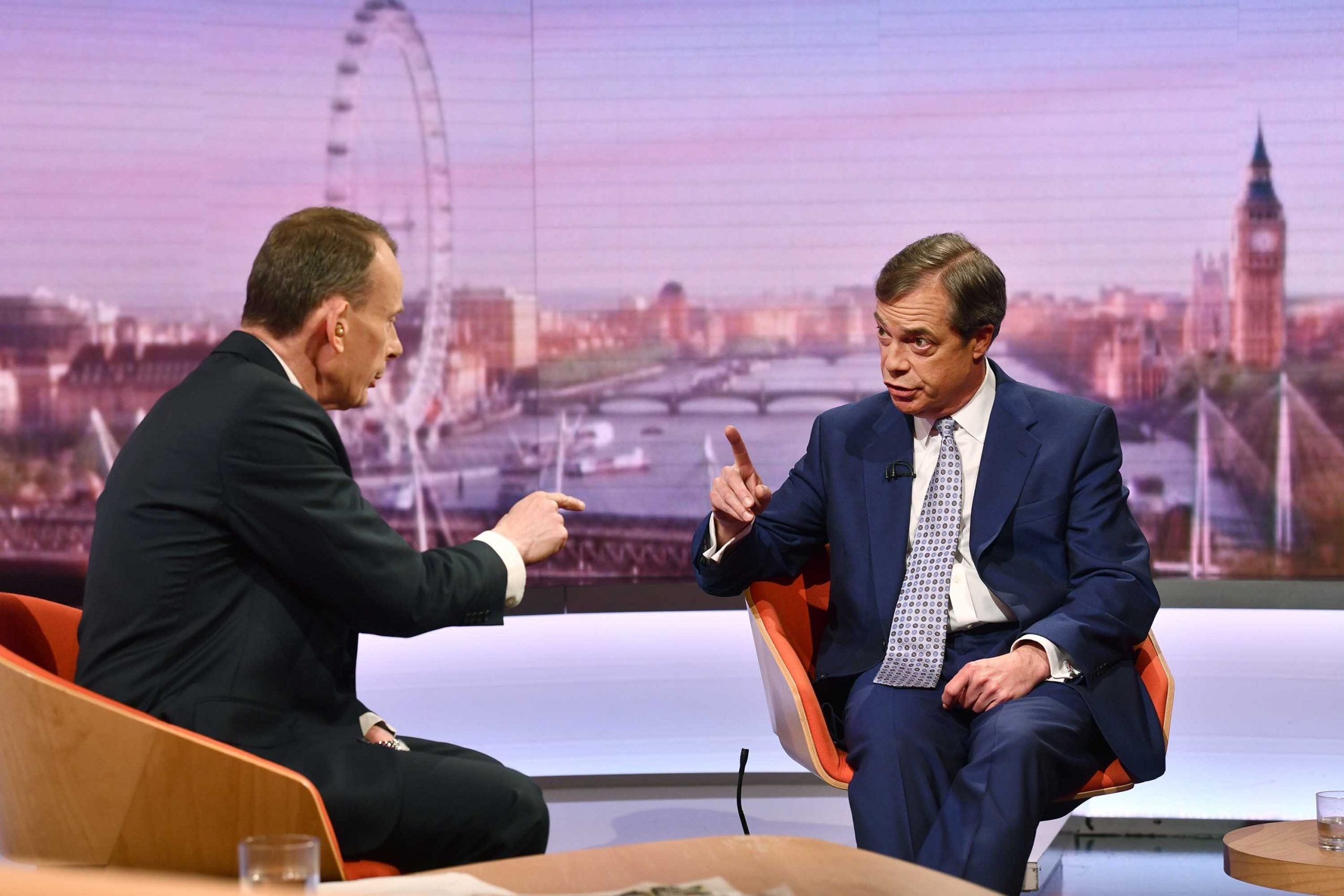 So Nigel Farage hates the BBC's tough questions? What a snowflake