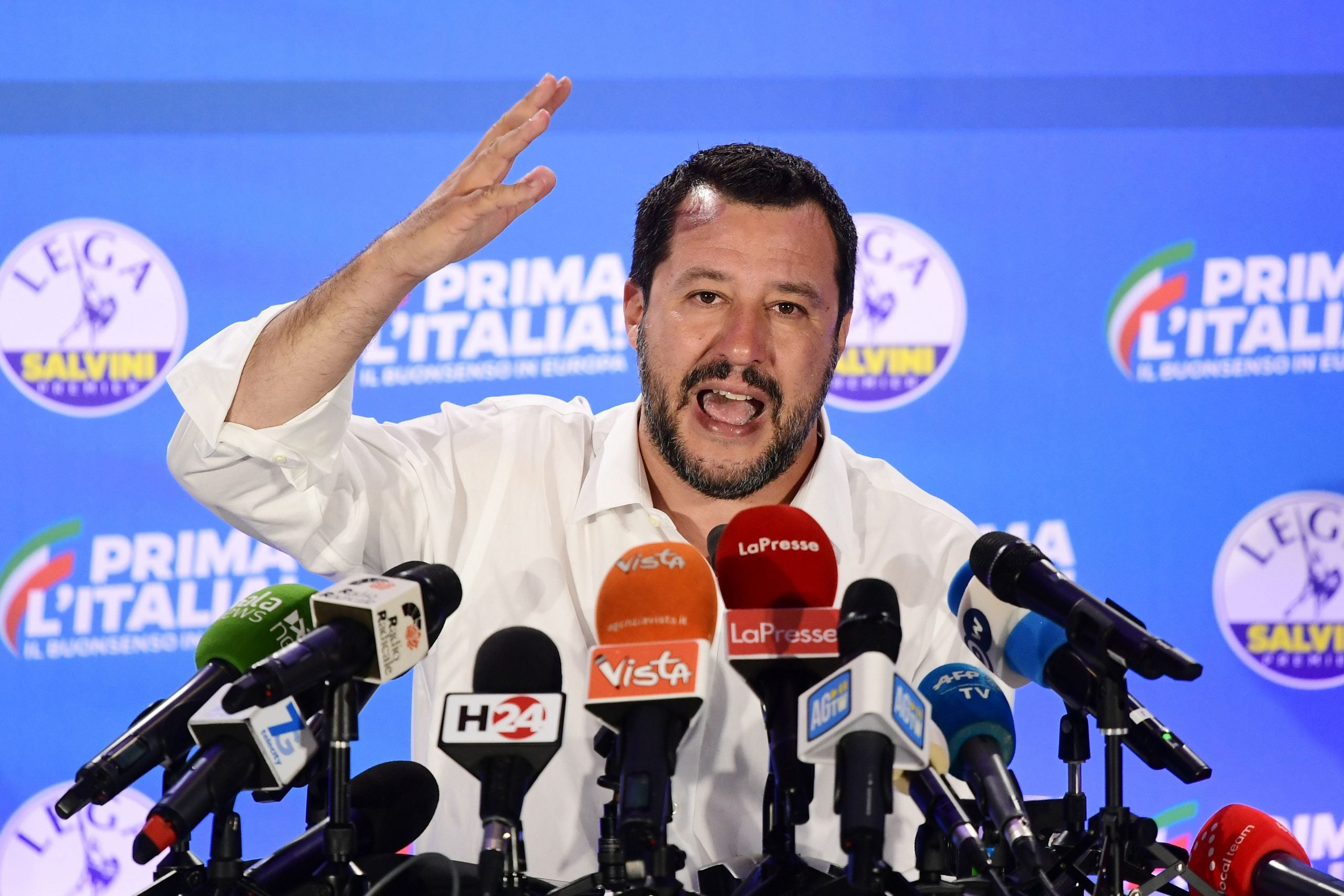 The fascist movement at the centre of Italy's culture war