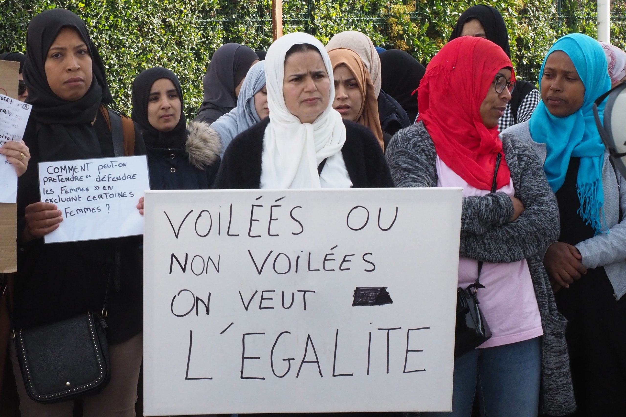 How a new headscarf row has reignited French divisions over Islam and secularism