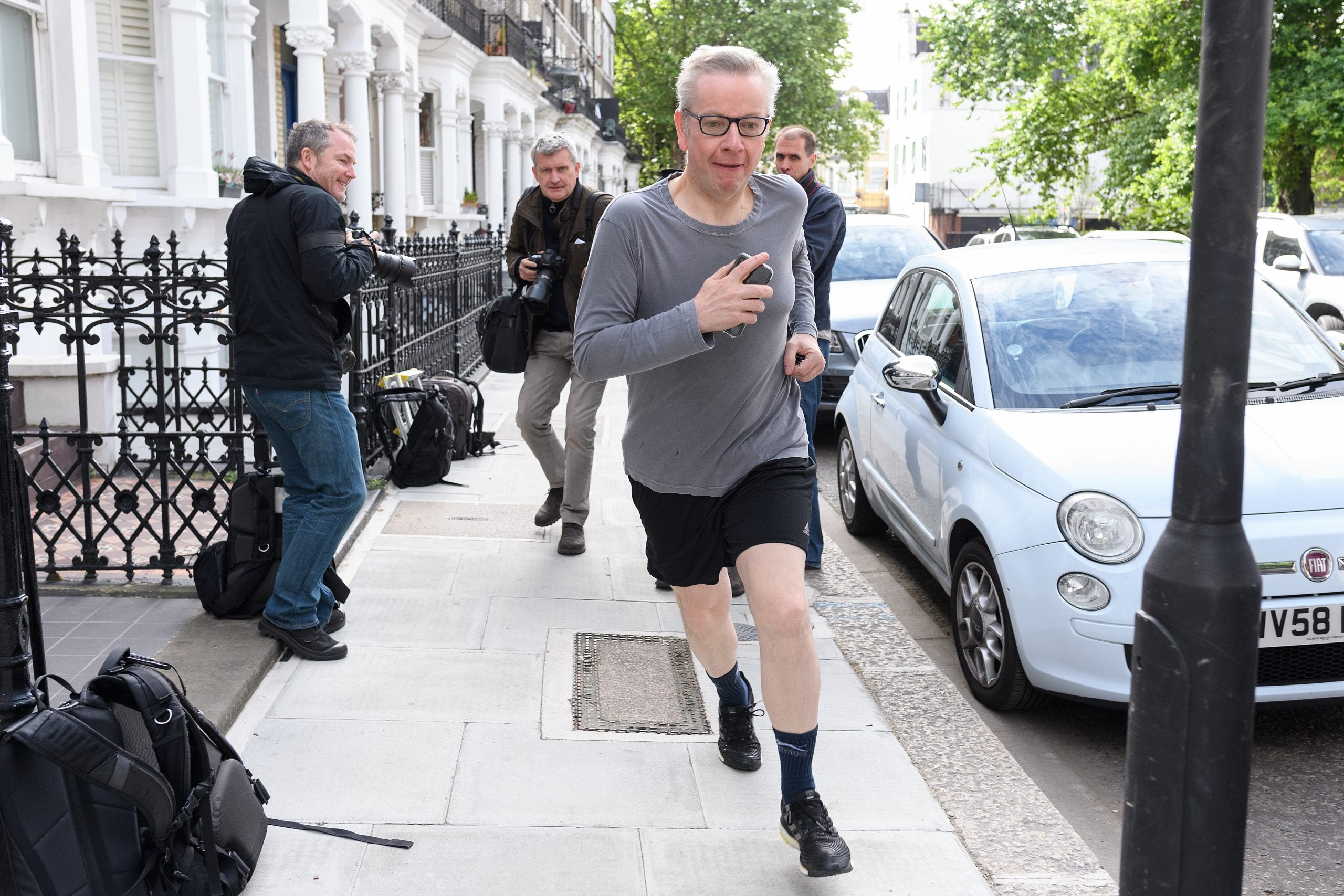 Commons Confidential: Michael Gove's sweatless scampers