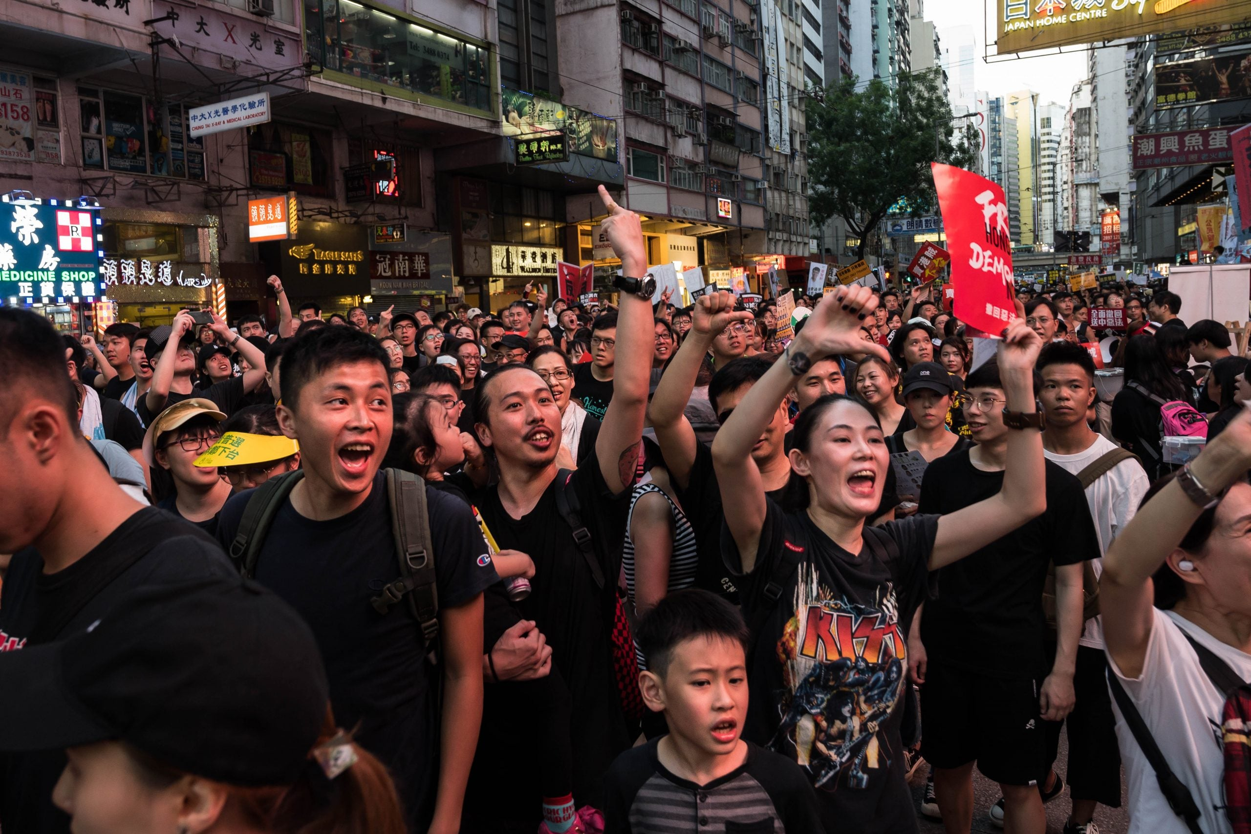 Should the UK do anything about the unrest in Hong Kong?