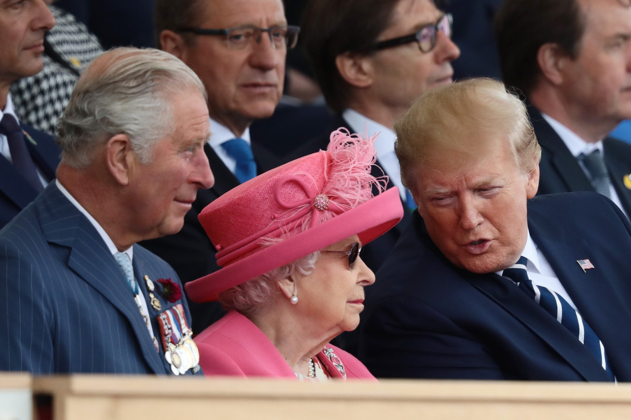 No, the Queen is not throwing shade at Donald Trump, and we all need to get a grip